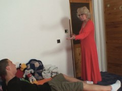 Wife finds him fucking mom in law and gets insane